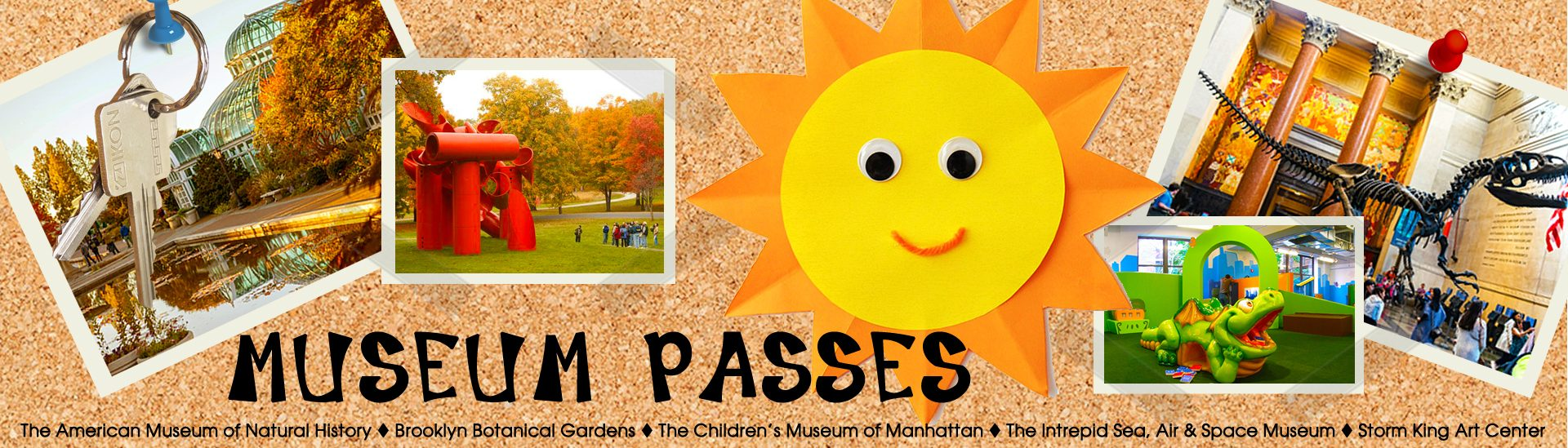 museum pass banner
